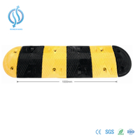 1000mm Rubber Speed Hump for Road Safety