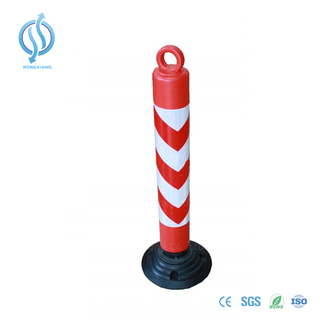 500/800/1200mm Warning Post with High Visibility Reflective Film