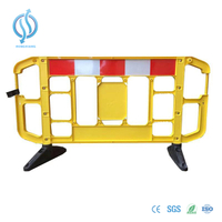 2m Yellow Traffic Plastic Barrier