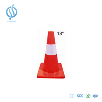 Flexible PVC Cone 450mm
