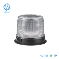 Solar LED Strobe Beacon Warning Light