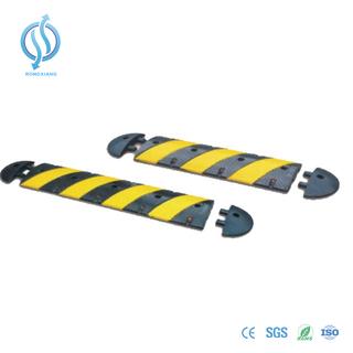 Long model Rubber speed hump for road safety